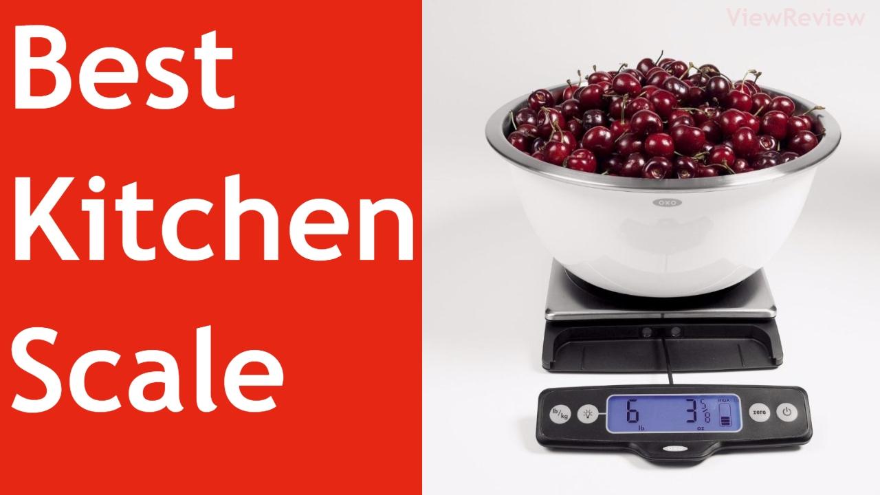 Best Kitchen Scale Youtube