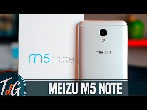 Meizu m5 Note, review en español