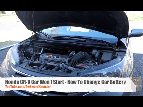 Honda CR-V Car Won't Start - How To Change Car Battery
