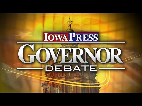 Iowa Press Governor Debate