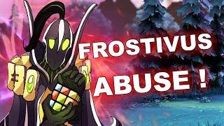 Dota 2 Tricks: How to WIN Rubick - Frostivus!