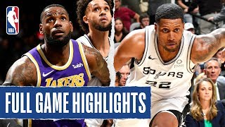 LAKERS at SPURS | FULL GAME HIGHLIGHTS | November 3, 2019