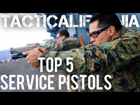 TOP 5 SERVICE PISTOLS