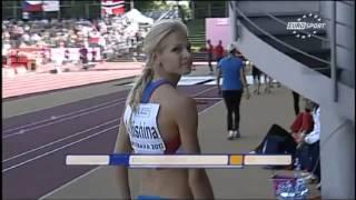 Darya Klishina Дарья Клишина 2011 13v  Ostrava U23 European Championships July 17th