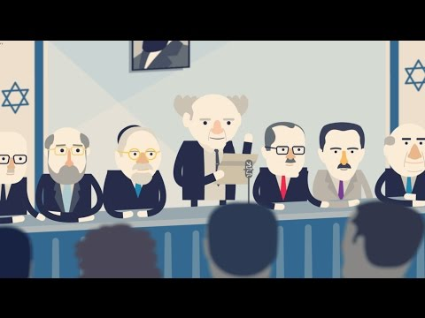 How The State Of Israel Was Born - Zionism In Animation