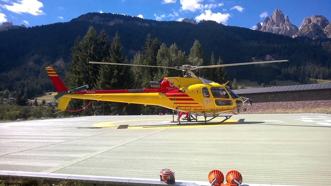 Elicottero B3 : Decollo as b del nucleo elicotteri della provincia di trento