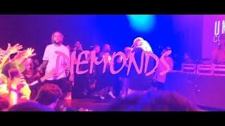 $UICIDEBOY$ - DIEMONDS /  LIVE / WITH RUSSIAN SUBS / ПЕРЕВОД
