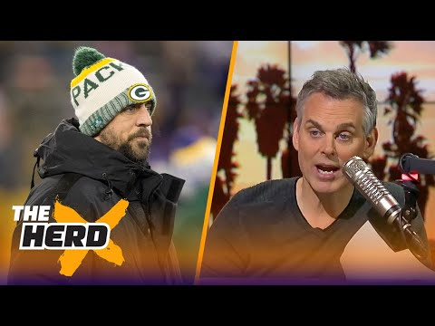 Colin Cowherd is not a fan of Green Bay's draft-heavy approach to building around Rodgers | THE HERD