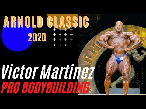Victor Martinez At The 2020 Arnold Classic Prejudging