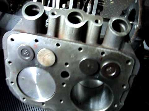 Wisconsin VH4D Four Cylinder Engine Four Cycle Engine Strokes Explained  YouTube