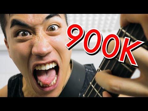 900,000 SUBSCRIBER METAL SONG