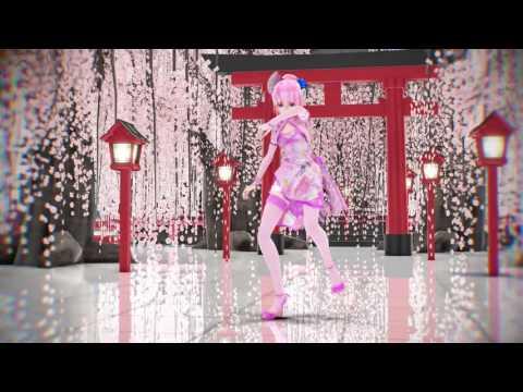 MMD Marine Bloomin' TDA Canary China Dress Luka