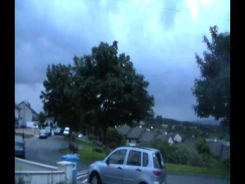 Westport Thunderstorm 19th July 2016