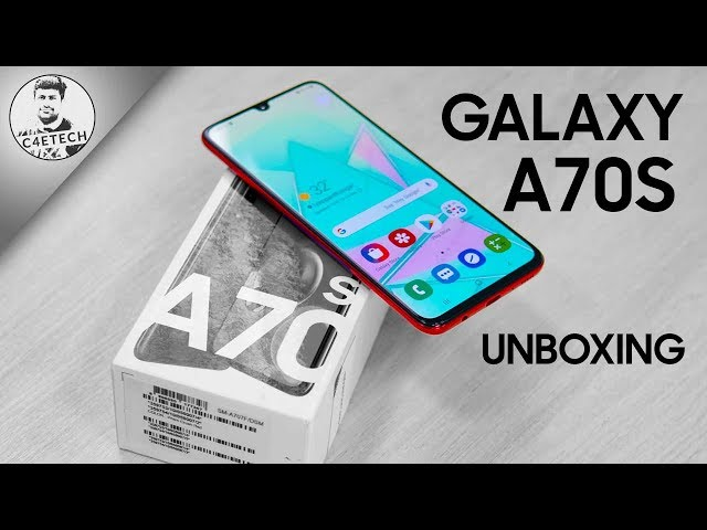Samsung Galaxy A70s Unboxing & Hands On Review - Is 64MP Enough?