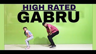 High Rated Gabru | Dance Choreography