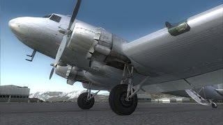 [FSX 1080p] Vuelo Comentado 10 - Douglas DC-3 Valencia-Ibiza - Vuelo manual VFR