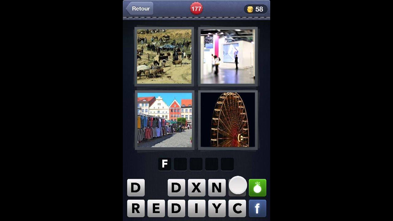 4 images 1 mot solutions niveaux 165 184 youtube for Cuisine 4 images 1 mot