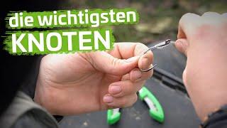 KNOTEN Zum WALLERANGELN   Step By Step Stillgewässer #3