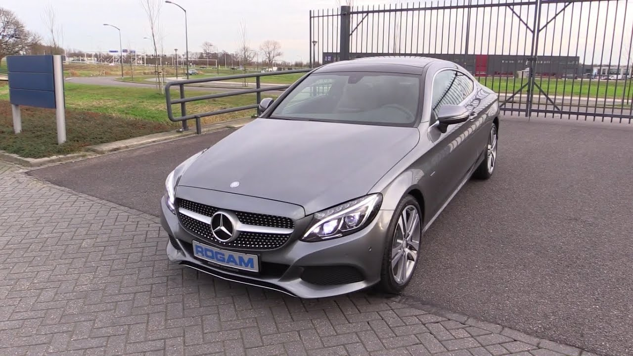 mercedes benz c class coupe 2016 start up test drive in depth review interior exterior youtube. Black Bedroom Furniture Sets. Home Design Ideas