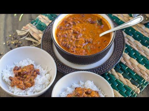 Vegan Red Kidney Beans Curry   Konkani Style Rajma Curry
