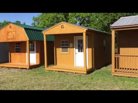 Graceland Portable Buildings for sale in Greenville TX