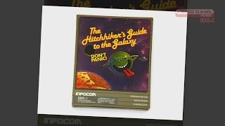 Game | Hitchhiker s Guide to the Galaxy PC Video Game Years 1984 | Hitchhiker s Guide to the Galaxy PC Video Game Years 1984