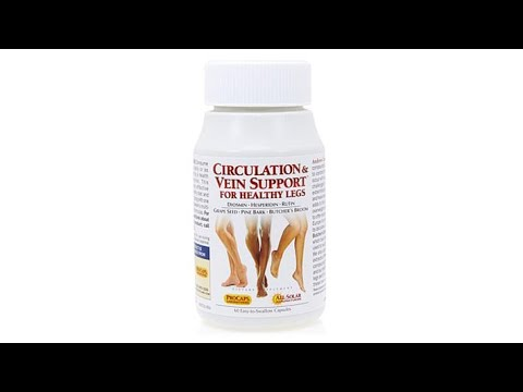 Circulation and Vein Support for Healthy Legs  60 Capsul...