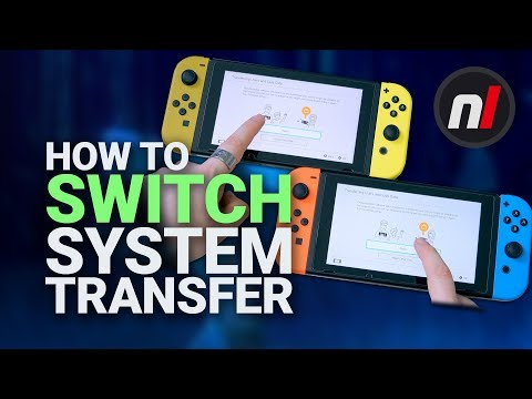 Nintendo Switch System Transfer: How To Transfer All Your Saves