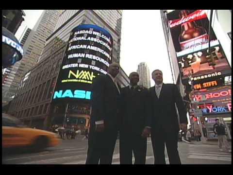 NAAAHR GNY NASDAQ Closing Bell Feb 19 2009 Times Square Photos