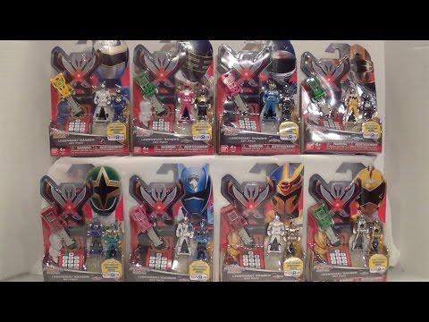 Legendary Ranger Key Packs Wave 6 Review [Power Rangers Super Megaforce]