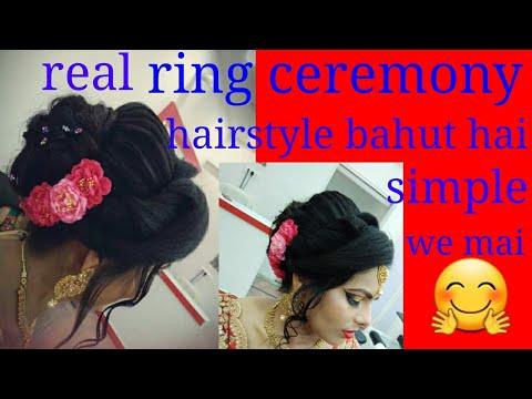 real hairstyle bahut hai kam time me