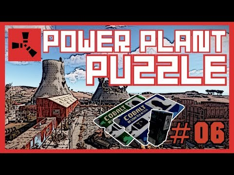 Rust Tutorial: Power Plant Puzzle (2020) + Minicopter Looting