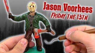 ЛЕПИМ ДЖЕЙСОНА ВУРХИЗА ИЗ ФИЛЬМА ПЯТНИЦА 13-ое | Jason Voorhees Friday 13th