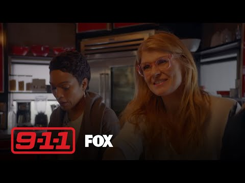 Abby Meets Everyone At The Firehouse | Season 1 Ep. 6 | 9-1-1