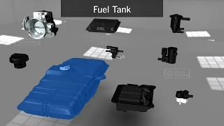 Animation on How Evaporative Emissions Control System Works