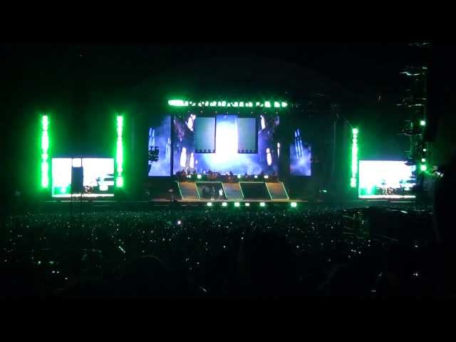 Eminem Slane Castle 2013 Stan Travel Video