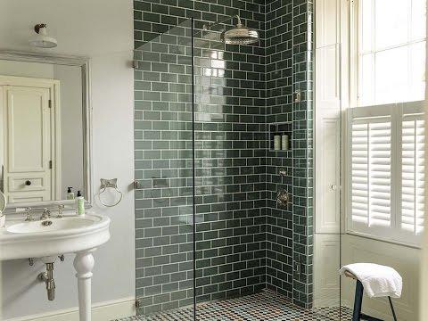 metro tiles bathroom ideas Green Metro Tiles Bathroom Design Ideas - YouTube