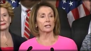 NUTTY NANCY PELOSI JUST CAME OUT & SAID THE 1 THING THAT OBAMA DIDN'T WANT HER TO SAY!