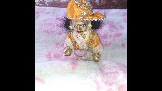 how to make night dress of bal gopal ladoo gopal thakurji krishna kanha ji