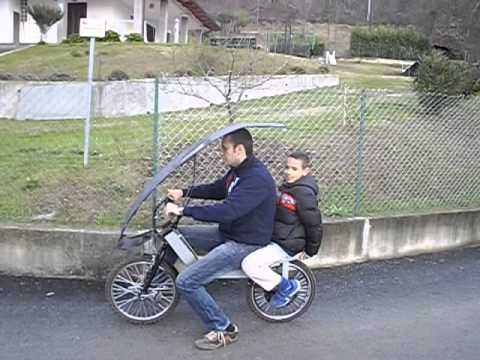 Frontpedal Project By Luca Comba 2 Seats Utility E Bike