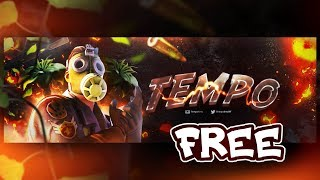 FREE Fortnite Banner Template Free To USE, Easy Download (GFX Pack)