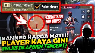 KITA REPORT DI TEMPAT !! PAKE CHEAT BLAK - BLAKAN DI LIVE STREAMING GUA !!! - PUBG MOBILE INDONESIA