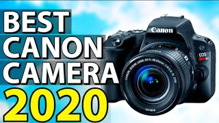 Best canon camera 2020, this video breaks down the top 5 cameras on market. 1. eos rebel sl2 ✅ ✓us prices - https://amzn.to/38bjbta ✓uk price...
