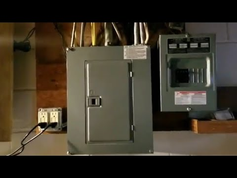 HOW TO WIRE A 120V / 240V ELECTRICAL PANEL FOR Off Grid Solar  Inverter