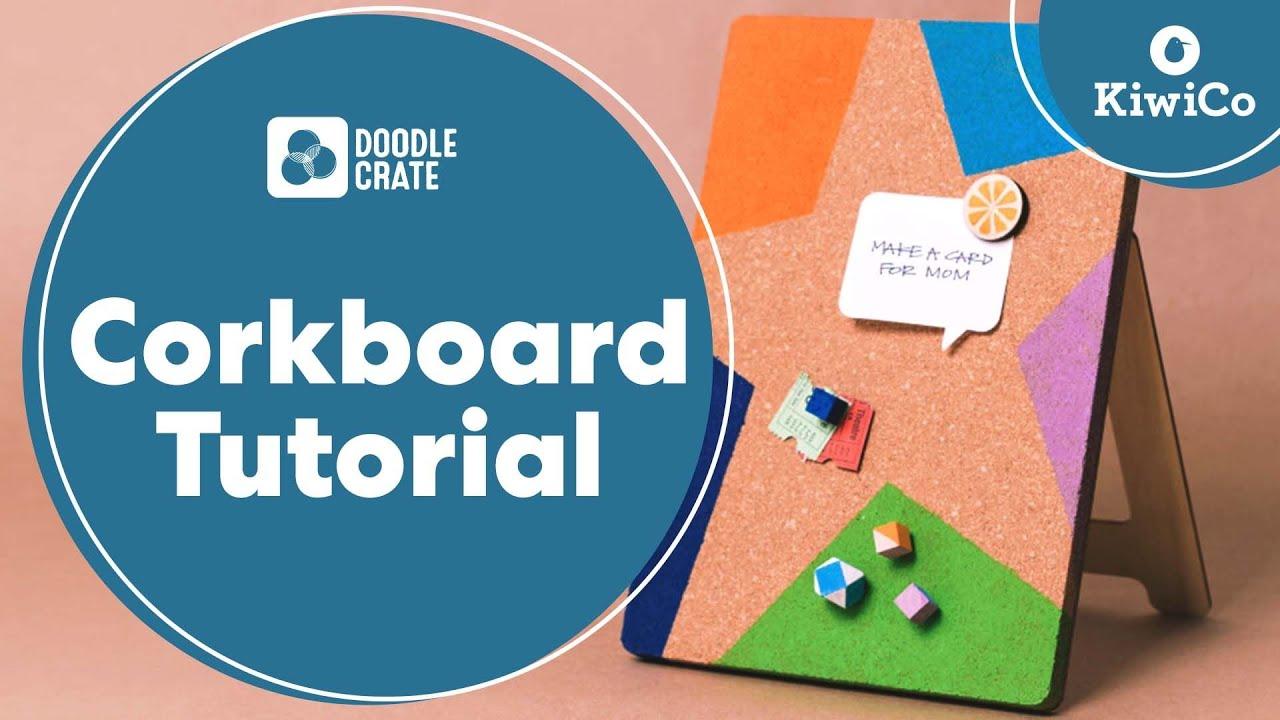 Desktop Corkboard Tutorial Doodle Crate Project