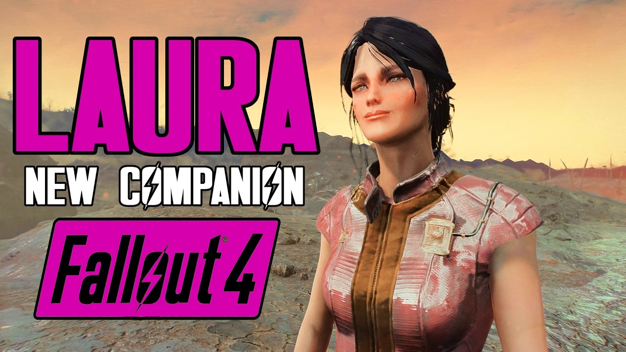 Fallout 4 - Meet Laura the Vault Girl - FULL ROMANCE - Fully Voiced  Companion with Perk
