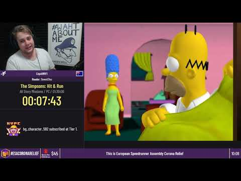 The Simpsons: Hit & Run [All Story Missions] By LiquidWiFi - #ESACoronaRelief