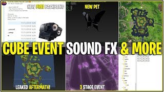 *NEW* Fortnite: LEAKED CUBE EVENT SOUND FX, NEW PET, LOOT LAKE v2 Map, & MUCH MORE!
