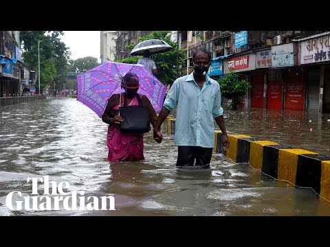 Mumbai flooding: monsoon rains inundate streets, homes and hospitals