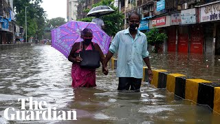 Mumbai flooding: monsoon rains inundate streets, homes and hospitals